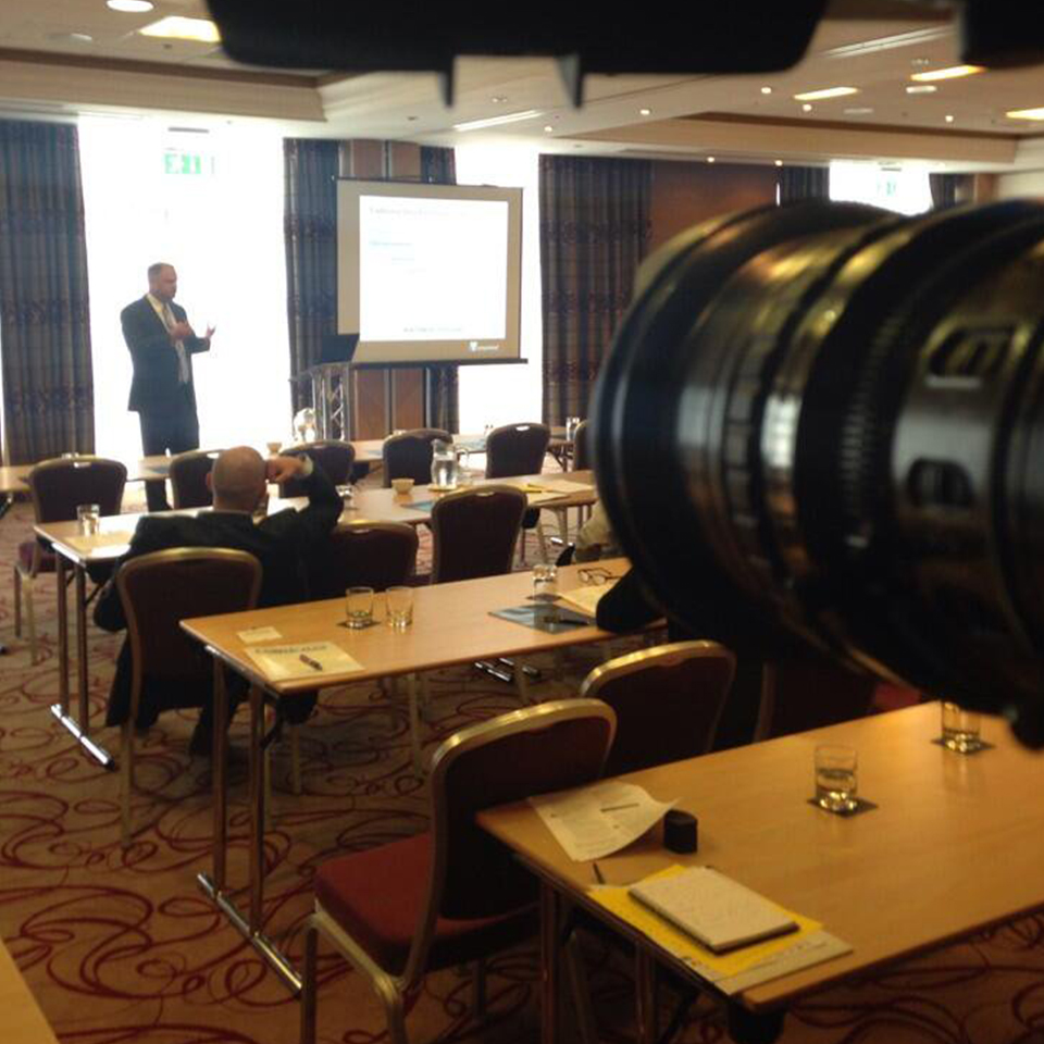 Leading conference and event video production